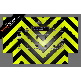 Black & Yellow Chevron Dave Smith Instruments Mopho