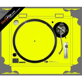 Solid Yellow Technics SL-1200 MK2