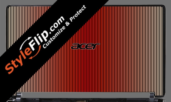 Red Stripes Acer Aspire One 531