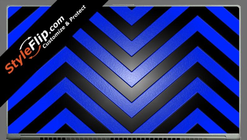 "Black & Blue Chevron Acer Aspire S7 13.3"""