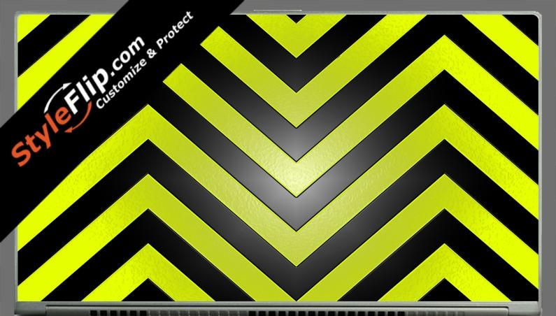 """Black & Yellow Chevron Acer Aspire S7 13.3"""""""