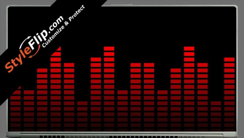 """Red Equalizer Acer Aspire S7 13.3"""""""