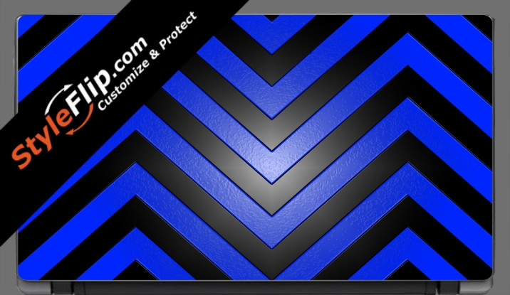 "Black & Blue Chevron Acer Aspire V5 11.6"""