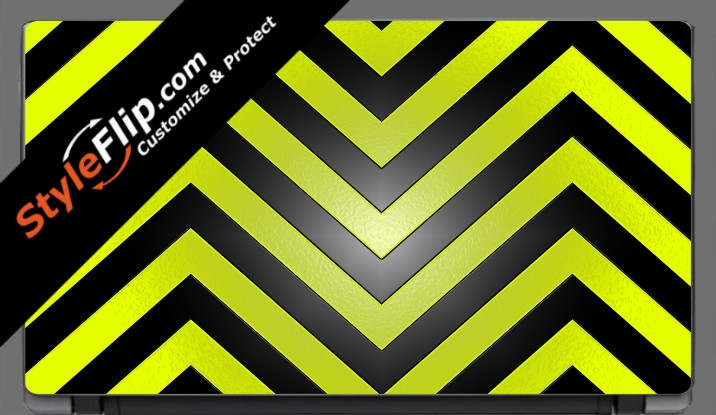 "Black & Yellow Chevron Acer Aspire V5 11.6"""