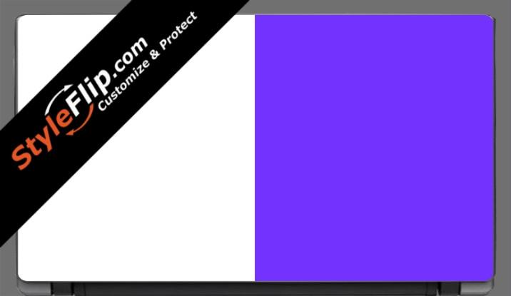 "Purple & White  Acer Aspire V5 11.6"""