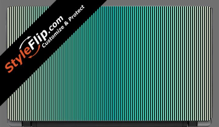 """Teal Stripes Acer Aspire V5 11.6"""""""