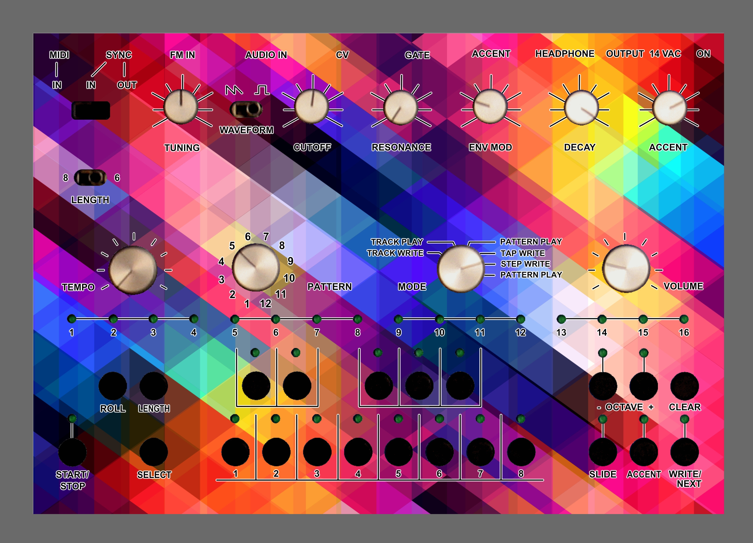 Pixalated Acidlab Bassline 2