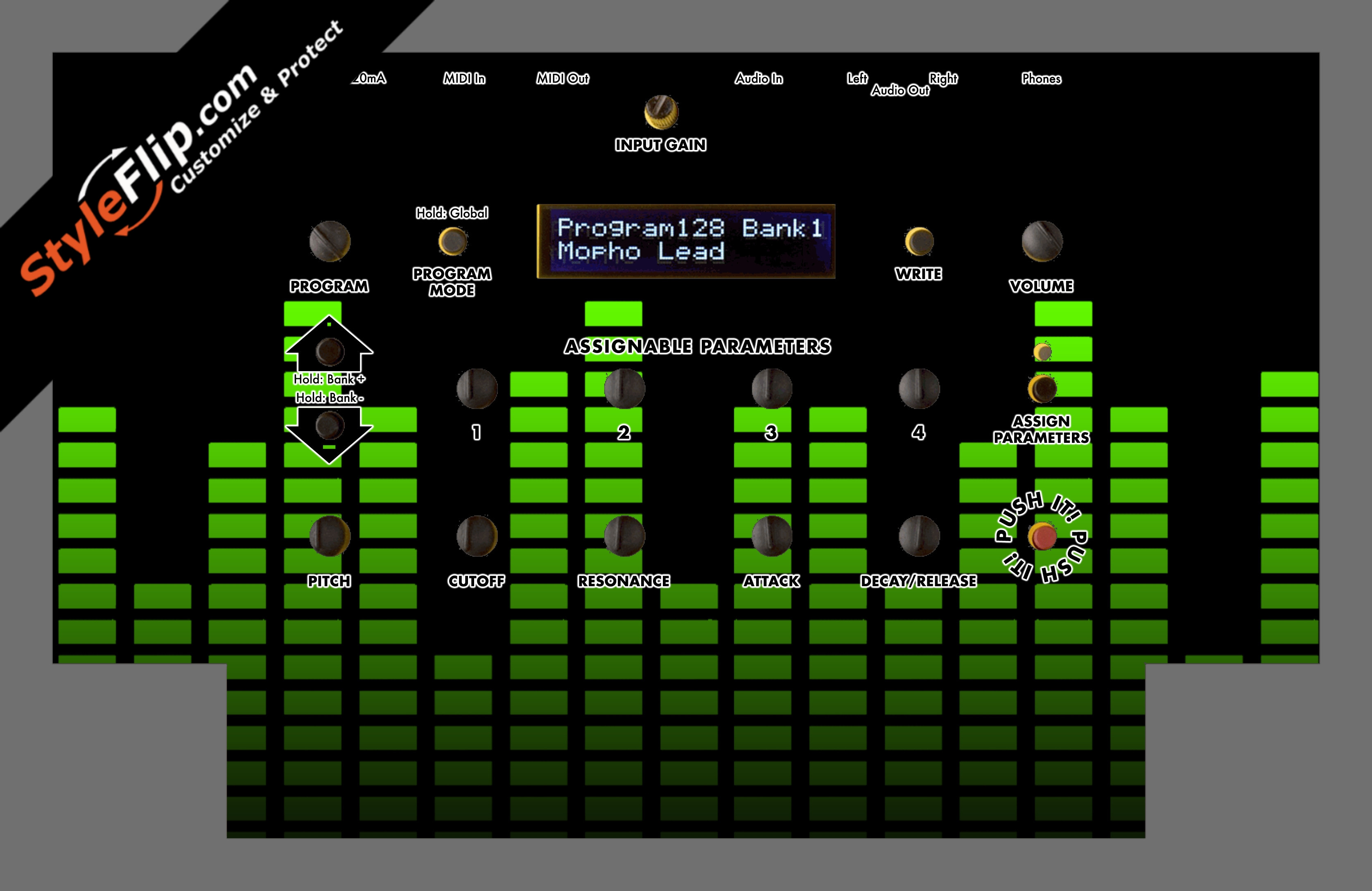 Lime Equalizer Dave Smith Instruments Mopho