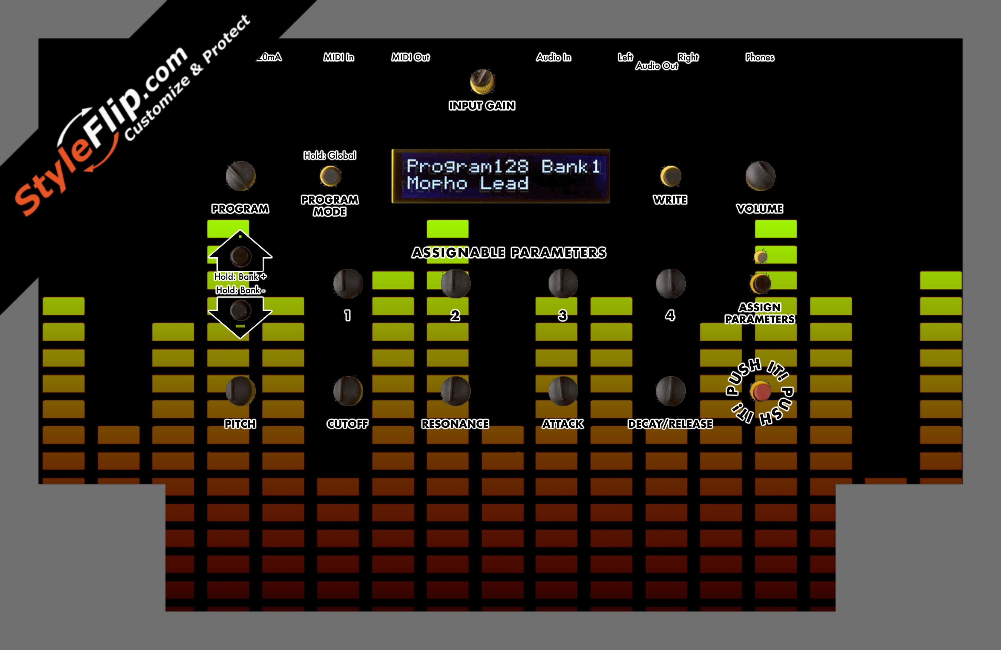Warm Equalizer Dave Smith Instruments Mopho