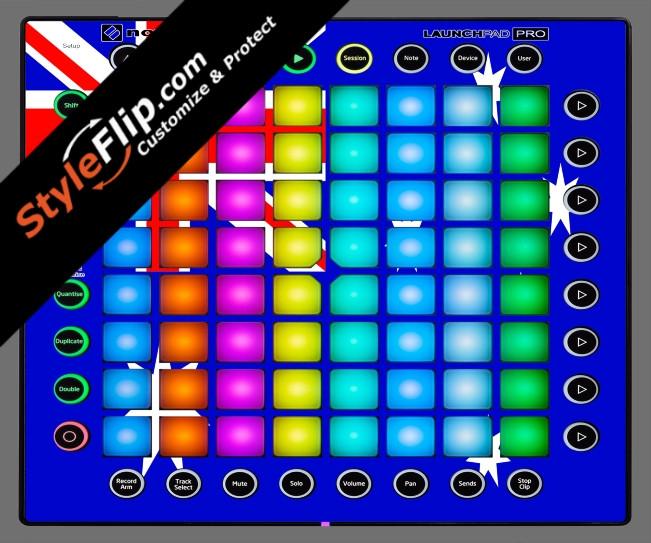 Australian Flag  Novation Launchpad Pro