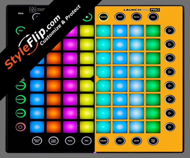 Black & Orange Novation Launchpad Pro