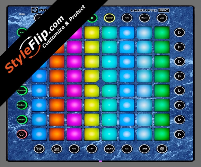 Blue Marble  Novation Launchpad Pro
