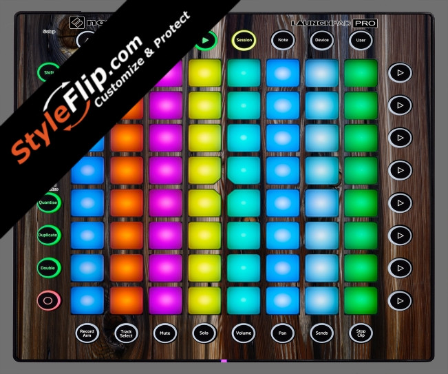 Dark Wood  Novation Launchpad Pro