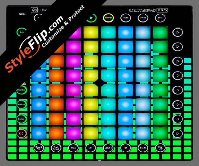 Green Equalizer  Novation Launchpad Pro