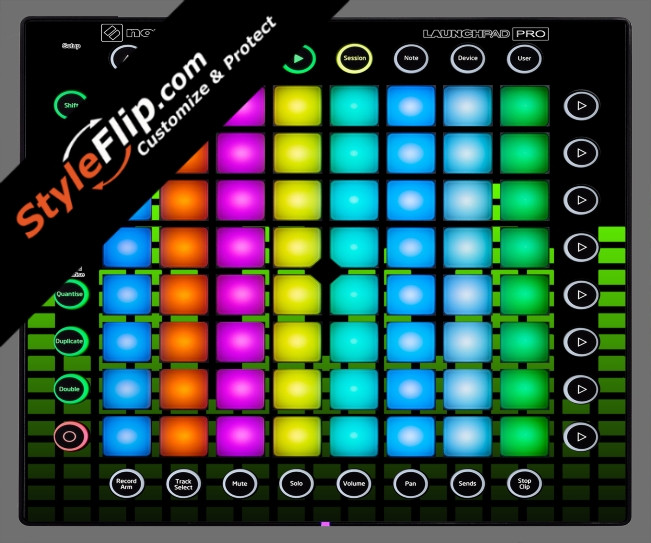 Lime Equalizer Novation Launchpad Pro