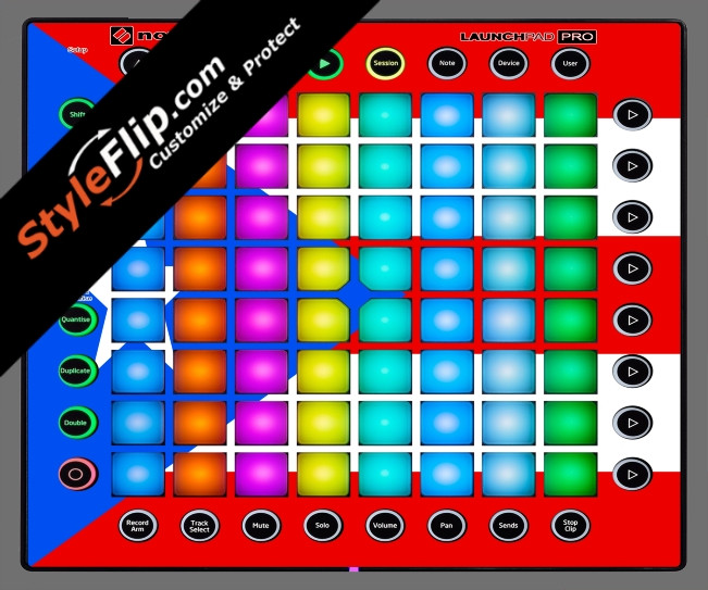 Puerto Rican flag  Novation Launchpad Pro