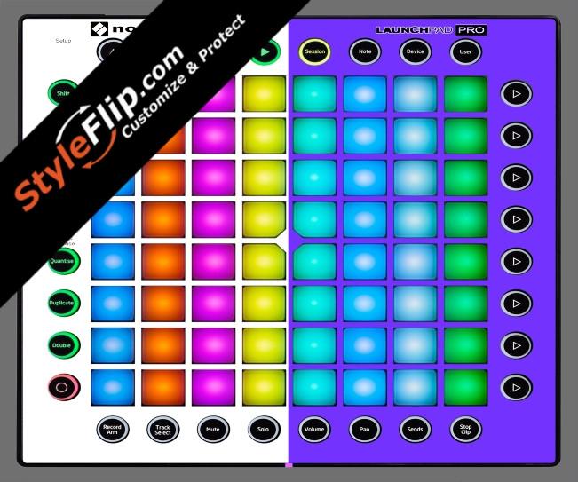 Purple & White  Novation Launchpad Pro