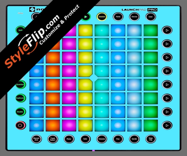 Solid Blue Novation Launchpad Pro