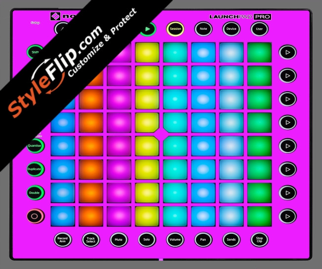 Solid Pink Novation Launchpad Pro