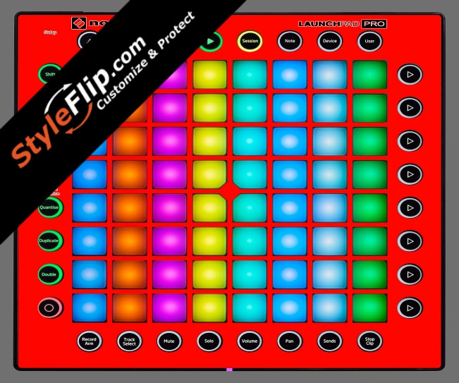 Solid Red Novation Launchpad Pro