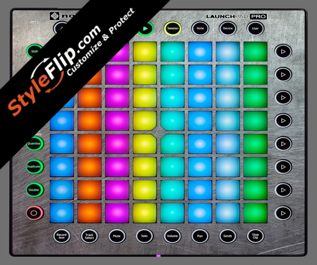 Steel Your Faceplate Novation Launchpad Pro