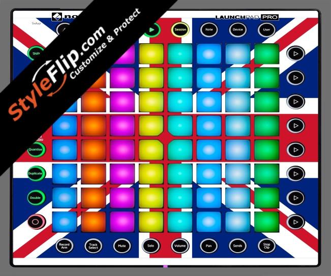 United Kingdom Flag Novation Launchpad Pro