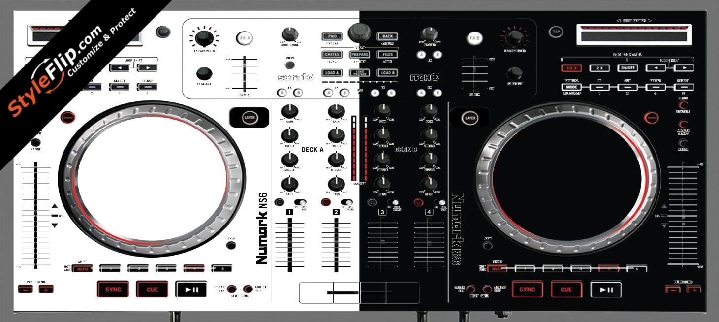 Black & White Numark NS-6