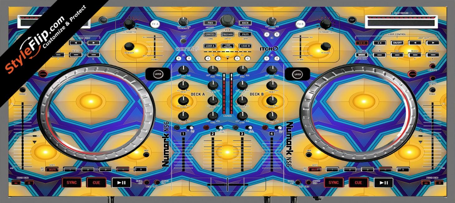 Honeycomb  Numark NS-6