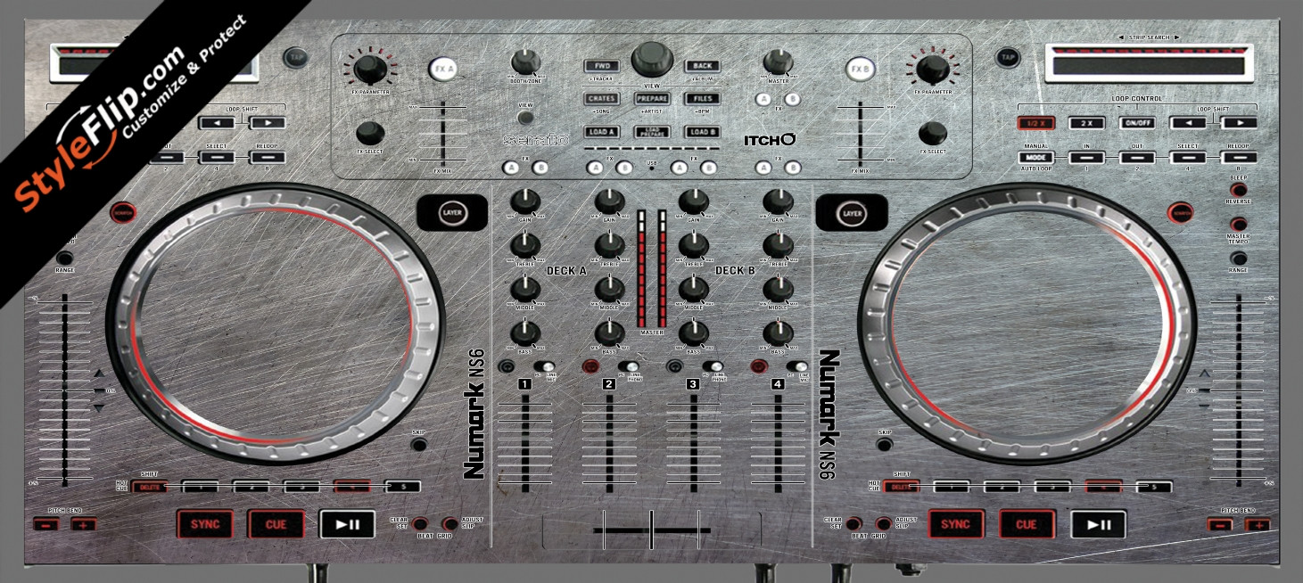 Steel Your Faceplate Numark NS-6