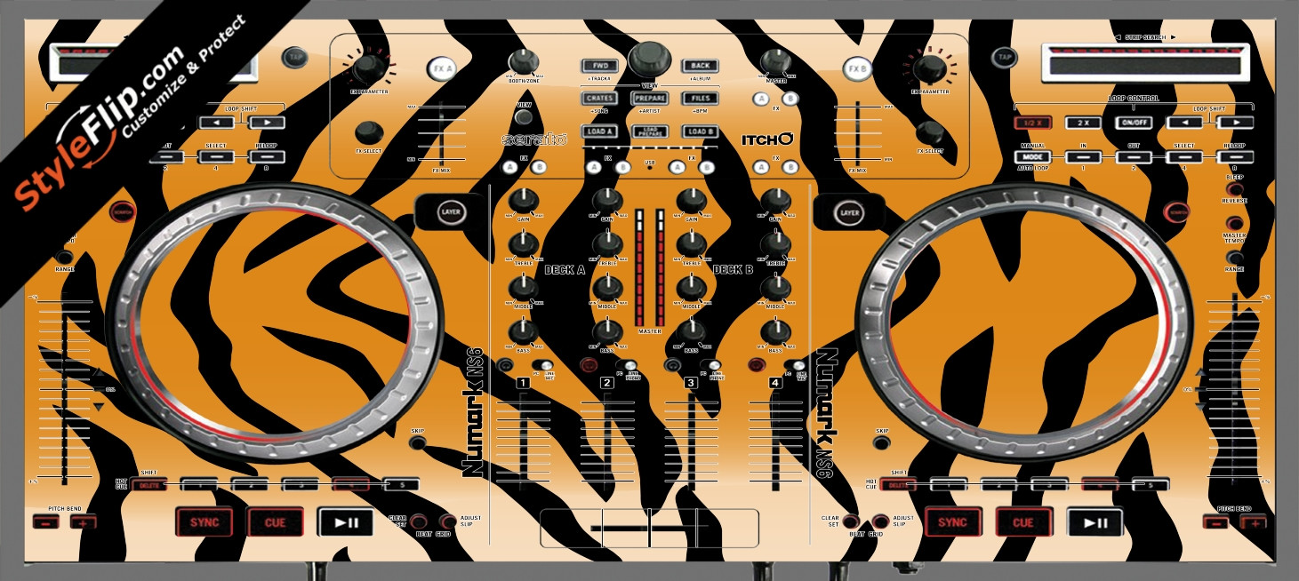 Tiger Stripes Numark NS-6