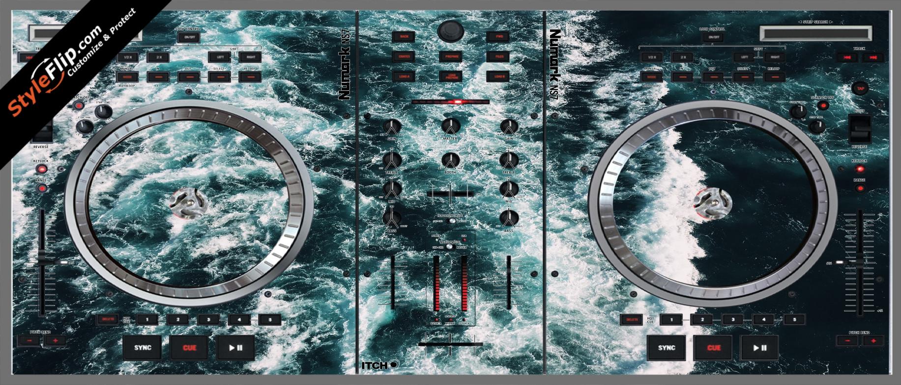 Deep Blue  Numark NS-7