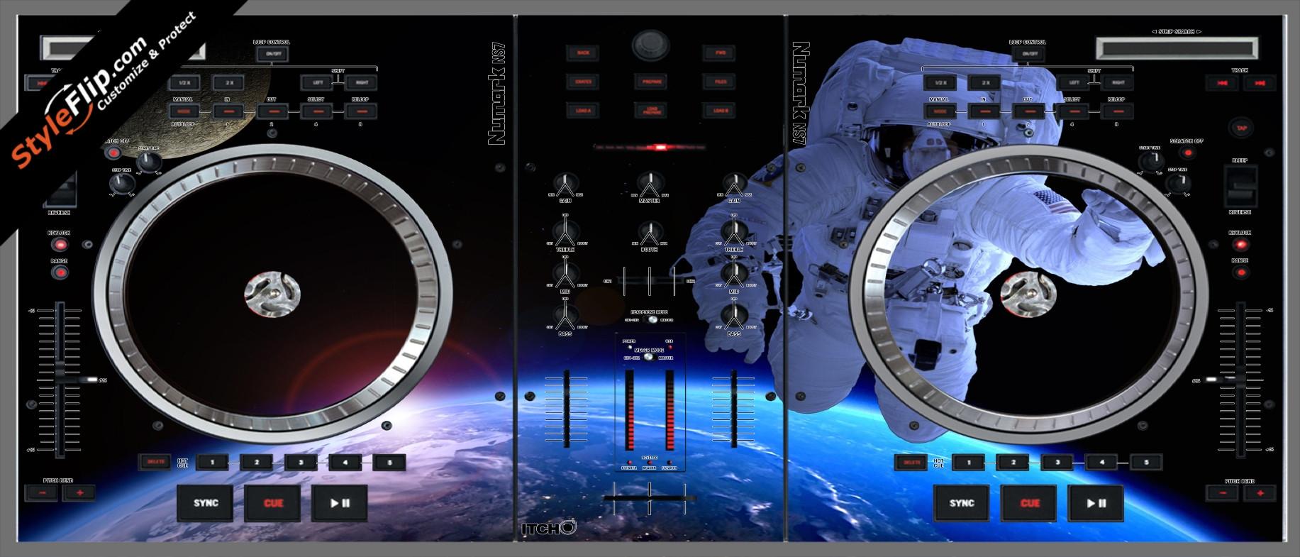 Destination Space  Numark NS-7