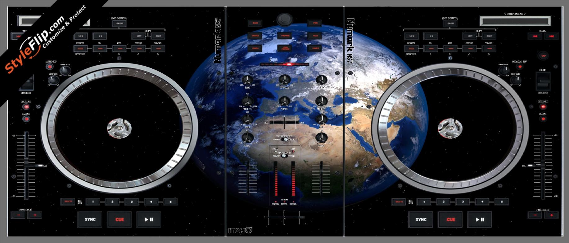 Earthling  Numark NS-7