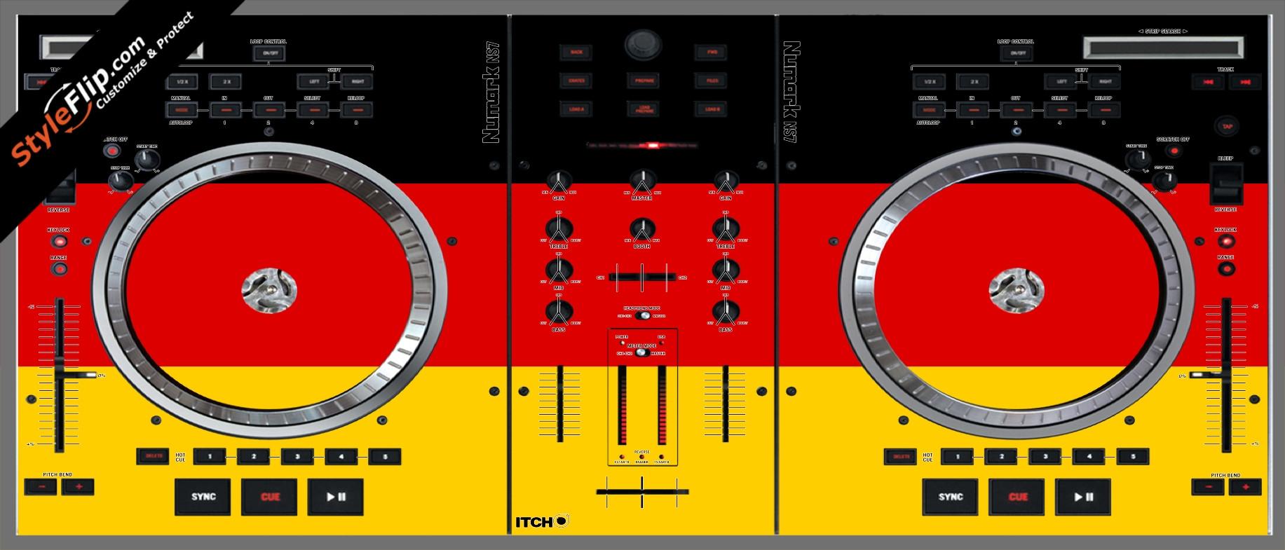 German Flag  Numark NS-7