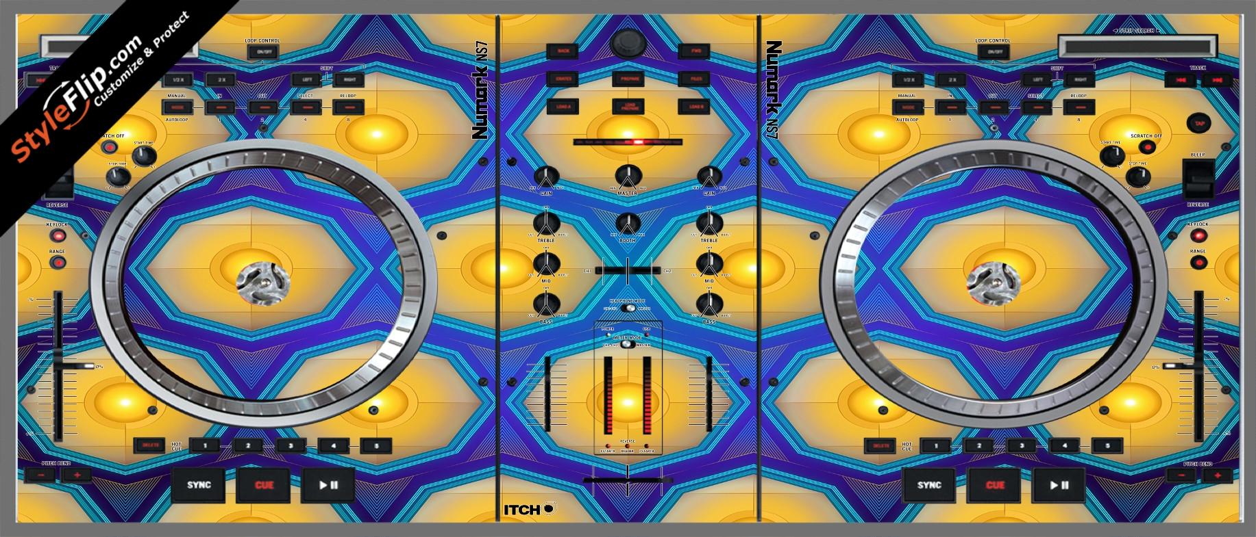 Honeycomb  Numark NS-7