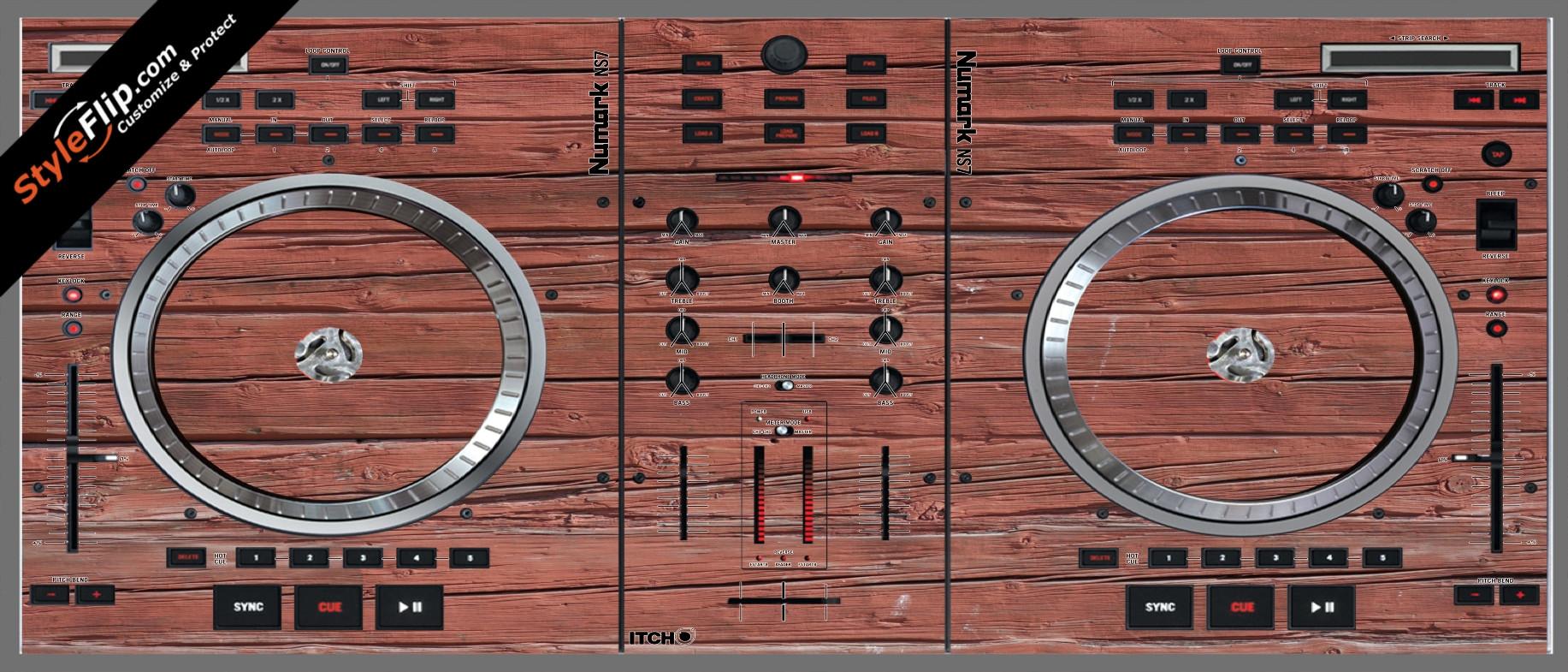 Old Wood  Numark NS-7