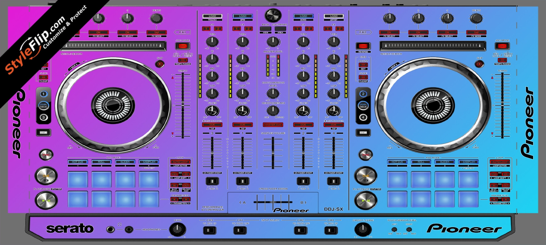 Cotton Candy Pioneer DDJ-SX