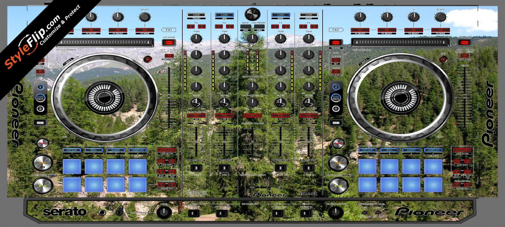 Deep In the Woods 2 Pioneer DDJ-SX