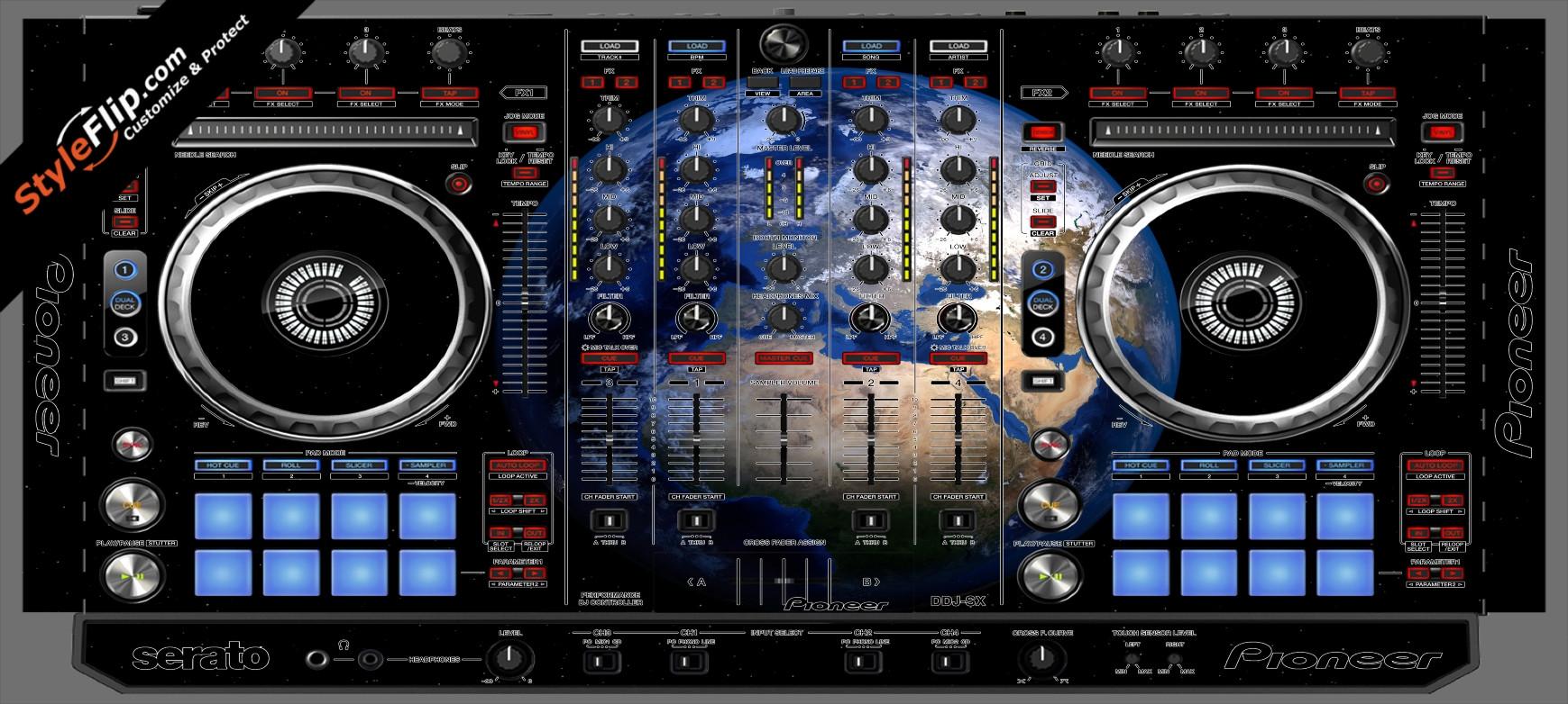 Earthling  Pioneer DDJ-SX