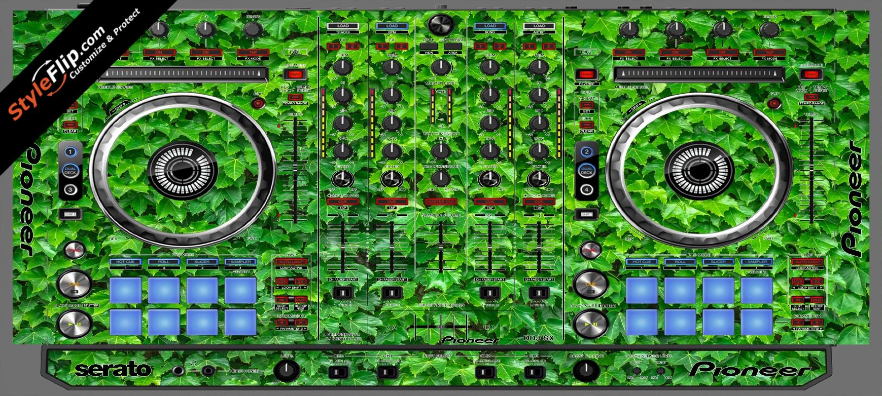 Greenery  Pioneer DDJ-SX