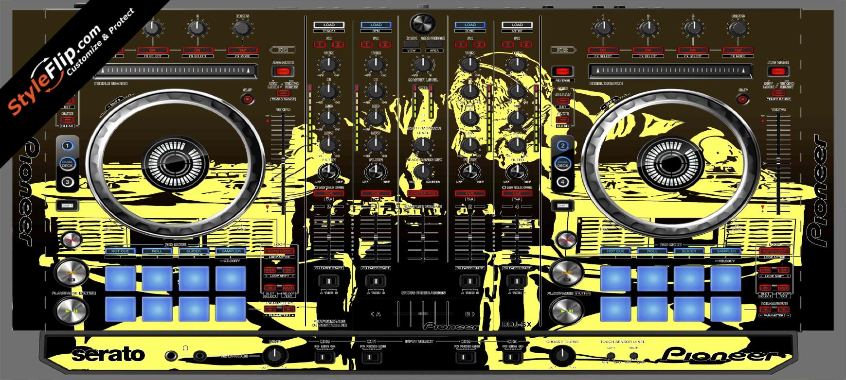 Scratch Master Pioneer DDJ-SX