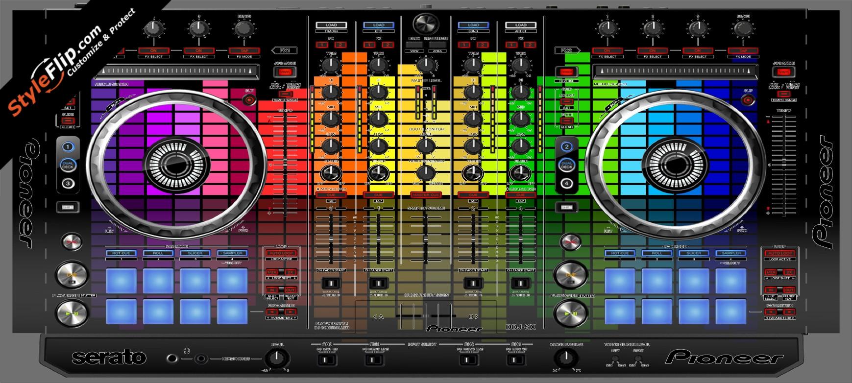 Turn Up  Pioneer DDJ-SX