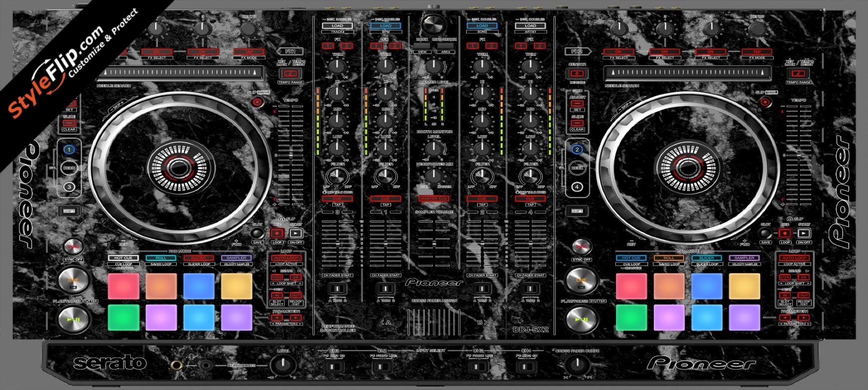 Black Marble  Pioneer DDJ-SX2