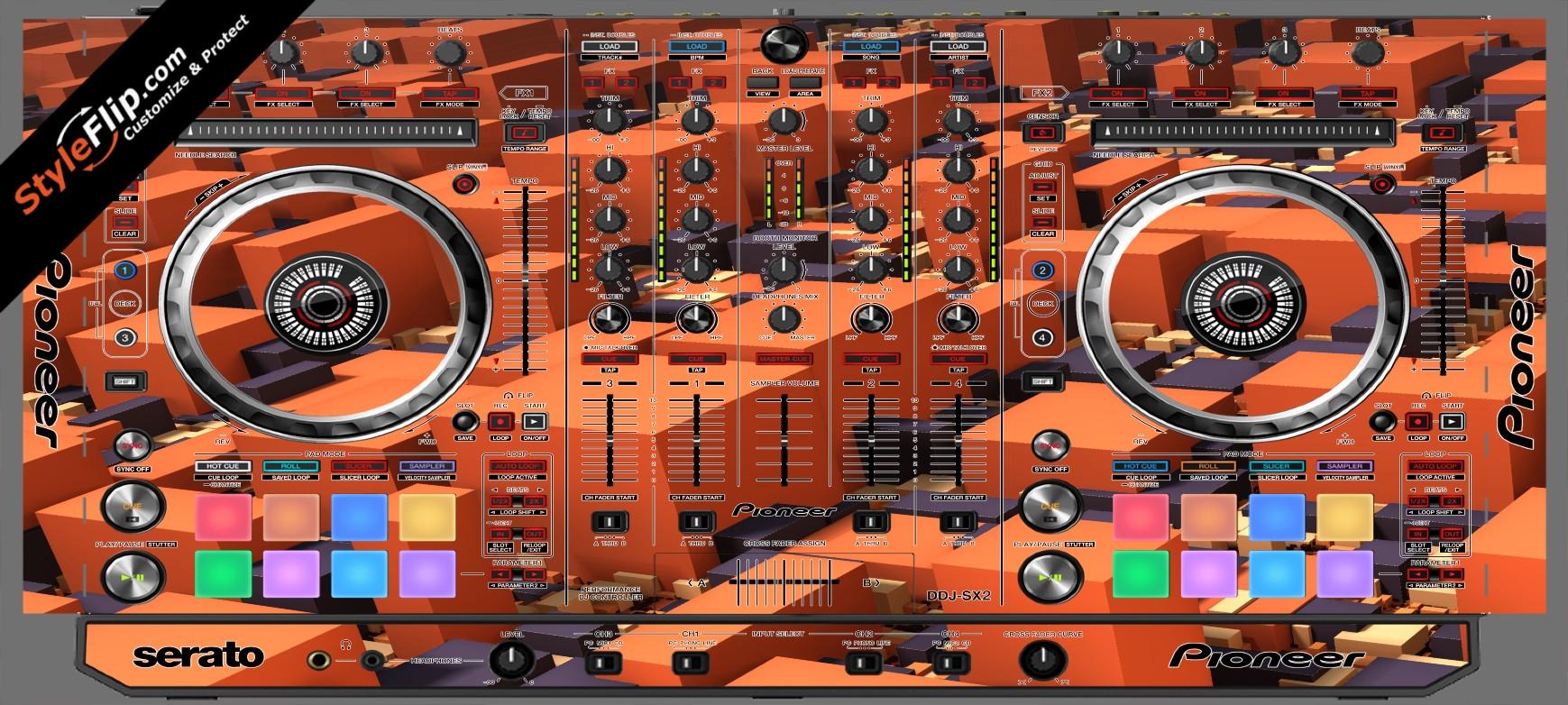 Blocked  Pioneer DDJ-SX2