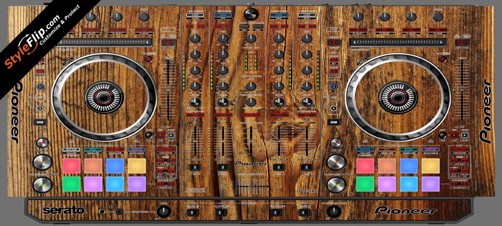 Classic Wood  Pioneer DDJ-SX2