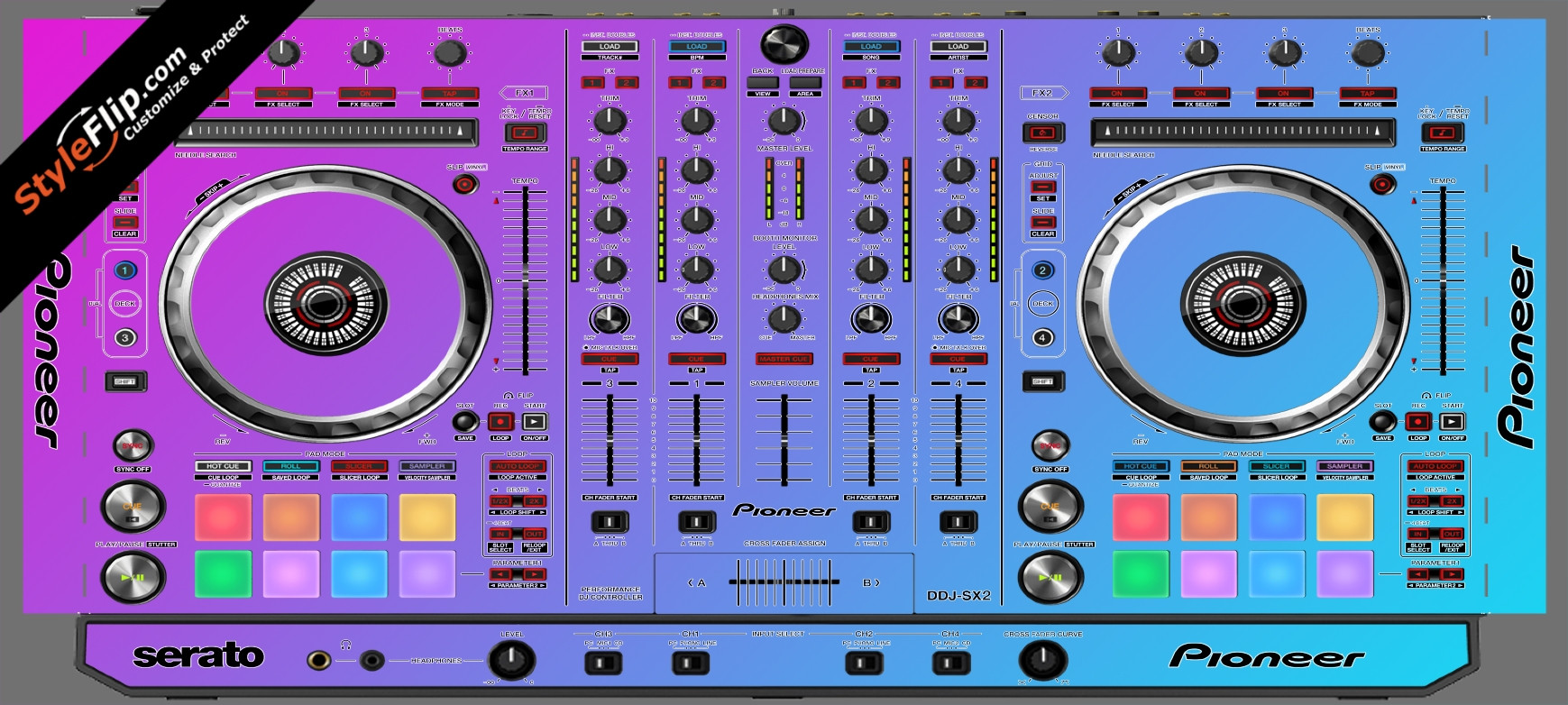 Cotton Candy Pioneer DDJ-SX2