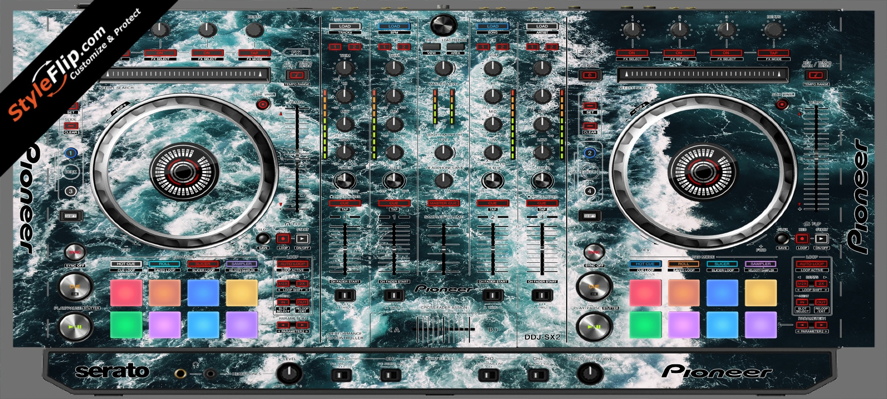 Deep Blue  Pioneer DDJ-SX2
