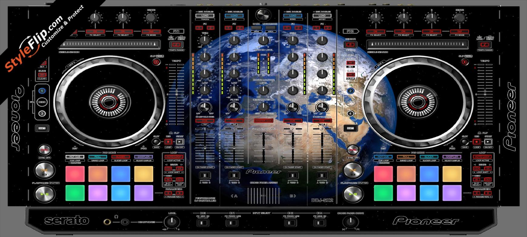 Earthling  Pioneer DDJ-SX2
