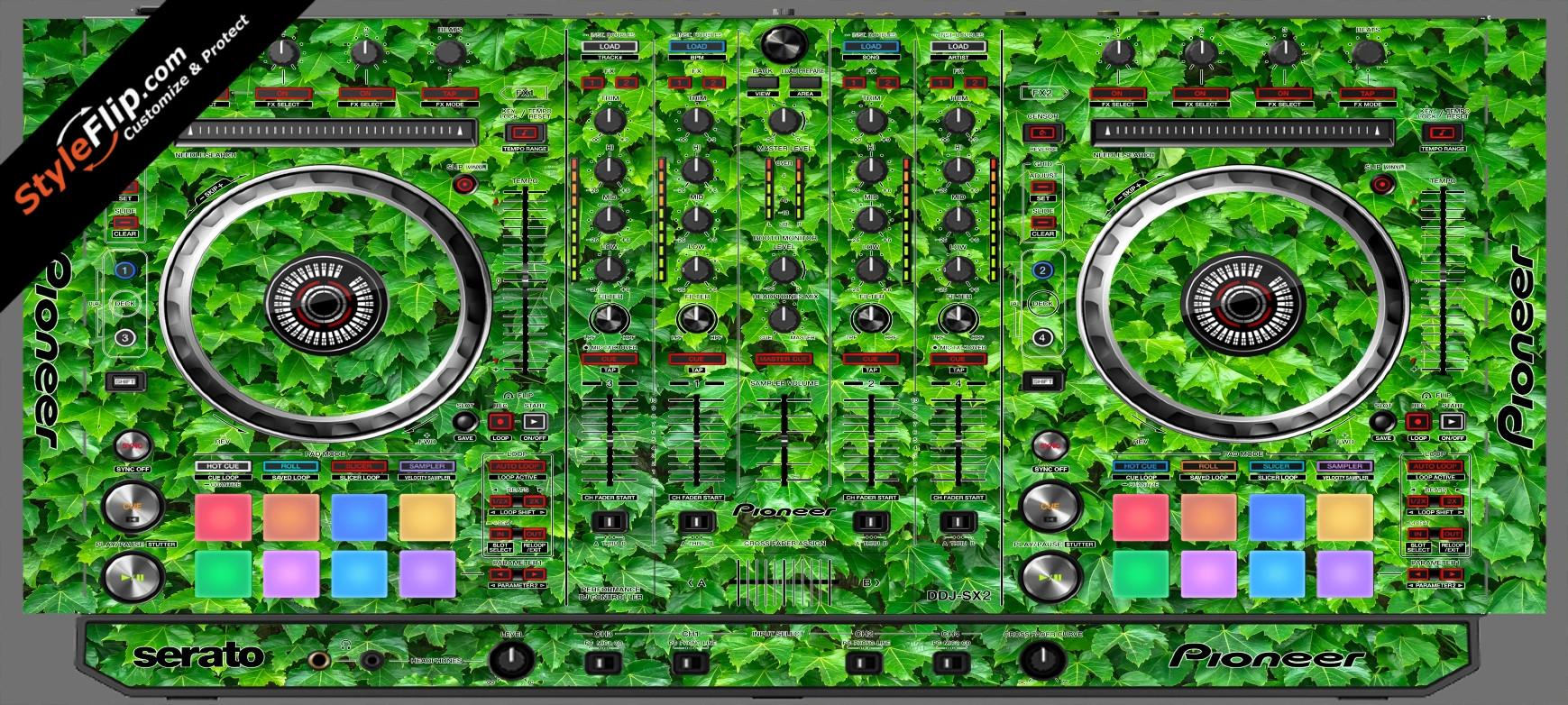 Greenery  Pioneer DDJ-SX2