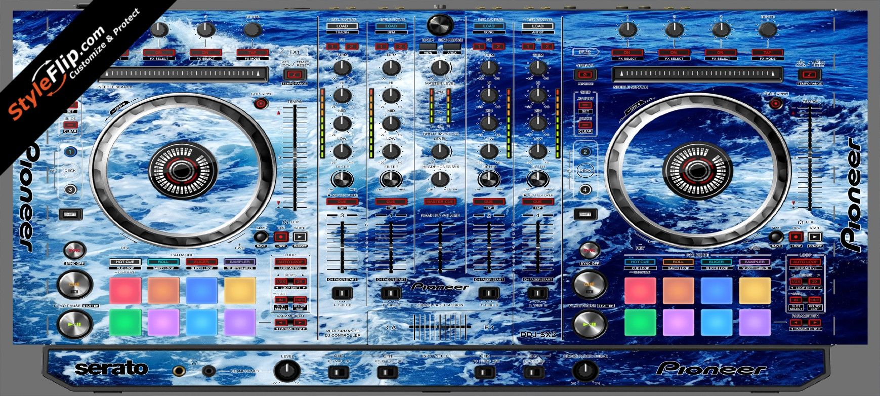 High Tide  Pioneer DDJ-SX2